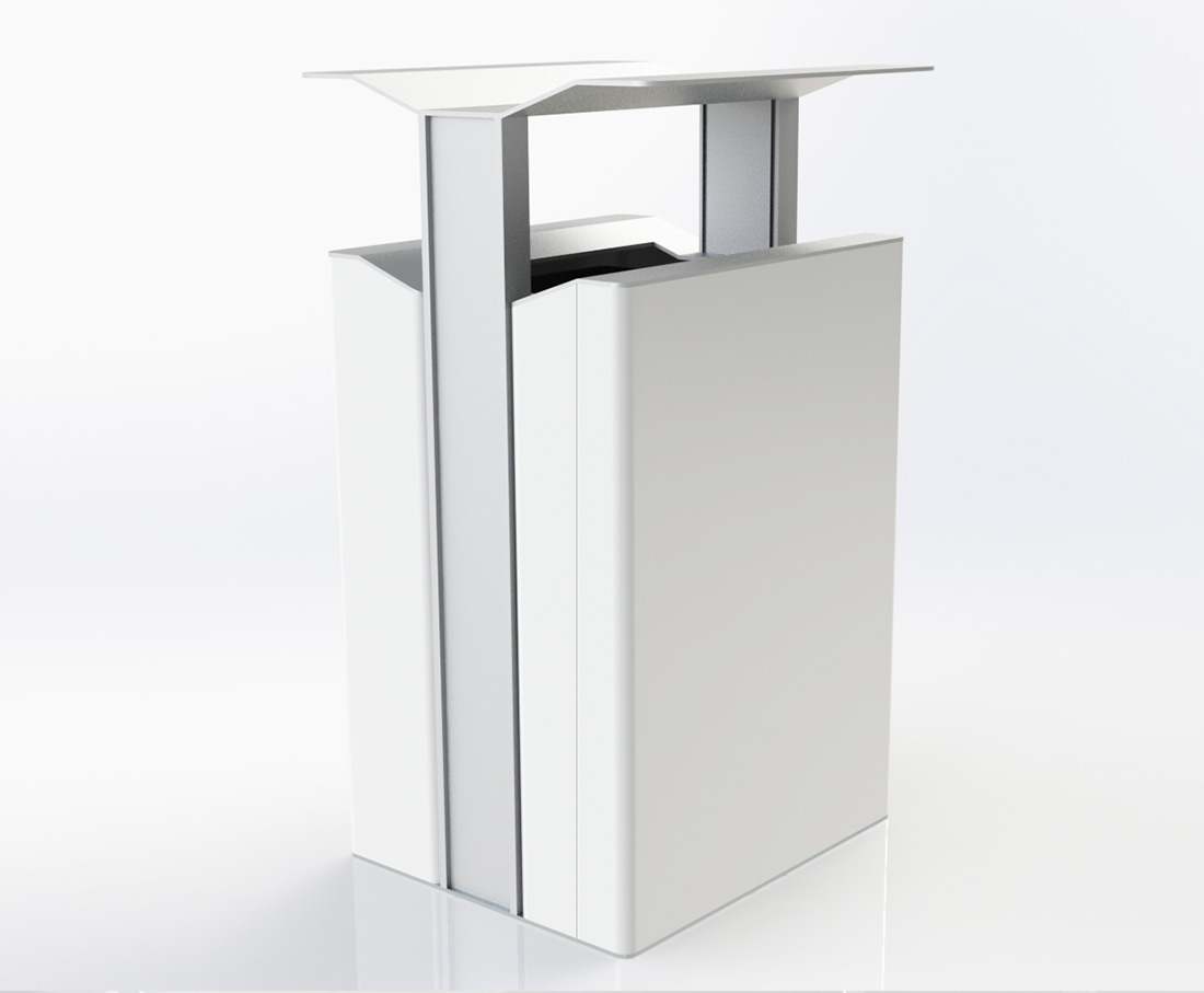 OUTDOOR RECEPTACLE DESIGNED BY ICONIC REVOLUTION