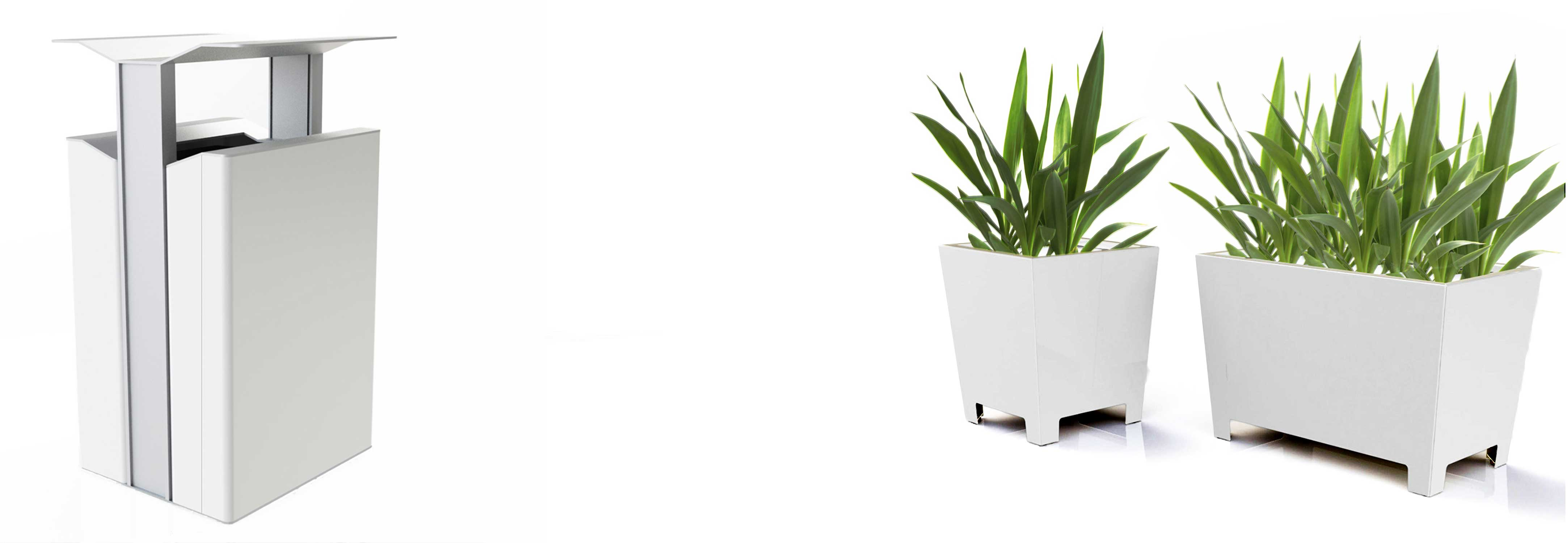 Outdoor-Planters-and-Receptacle