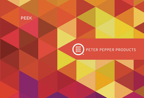 Peter Pepper Peek Brochure - Designed by Iconic Revolution