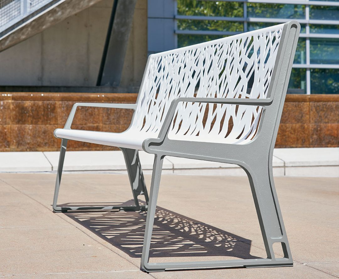Airi Stix Bench Designed by Iconic Revolution Inc.